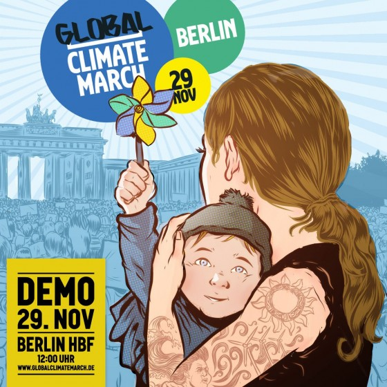 GlobalClimateMarch am 29.11. 2015